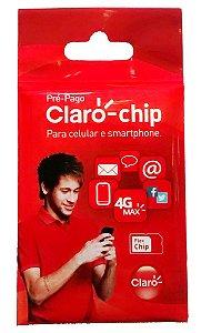 Chip Claro 4G DDD (011) triplo corte Tamanho Normal Micro e nano