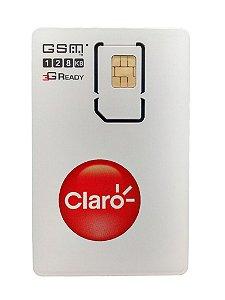 Chip Claro 3g maxx pré pago