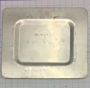 PLACA - 120-04579-001