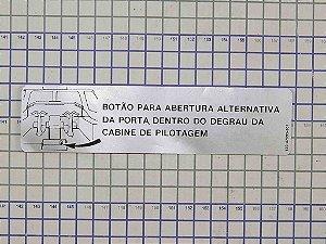 PLAQUETA - 120-47393-001