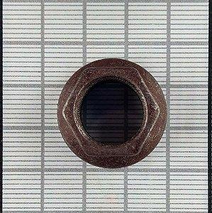 PORCA - H14-10 ( BANHO VERMELHO )