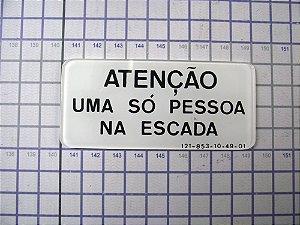 PLAQUETA - 121-853-10-49