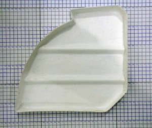 CARENAGEM SENECA III BAGAGEIRO - 96502-000