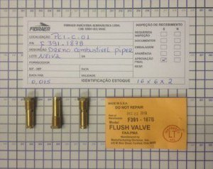 DRENO COMBUSTÍVEL PIPER - 491-806