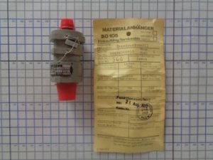 VALVULA UNIDIRECIONAL  - 689PA010100