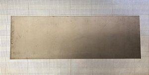 CHAPA TITANIO ASTM B265 - 0,25-LIGA MOLE  -122X39 CM - E2012192