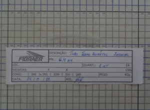 TUBO TERMORETRÁTIL INCOLOR 6,4 MM