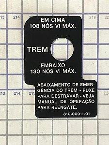 PLAQUETA - 810-00011-01