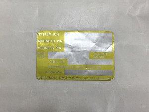 PLACA IDENTIFICADORA - 10-400006