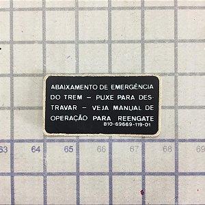 DECALQUE - 810-69669-119-01