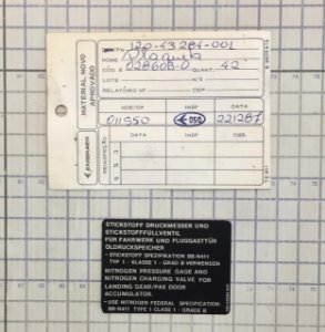 PLAQUETA - 120-43284-001