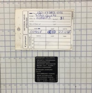 PLAQUETA - 120-43283-001