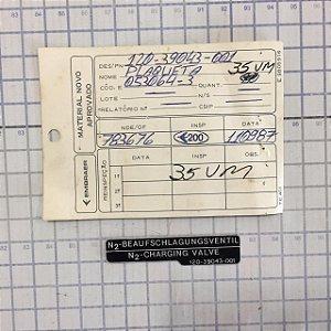 PLAQUETA - 120-39043-001