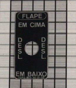 PLAQUETA - 110P2-853-30-01-05