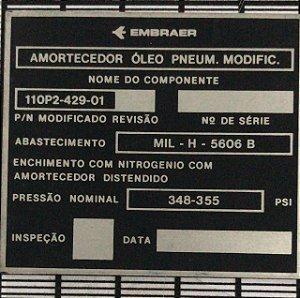 PLAQUETA - 110P2-429-01-01