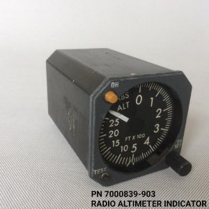 Radio Altimeter Indicator - 7000839-903