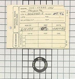 PLAQUETA - 120-17734-001