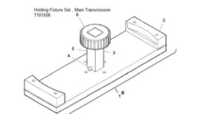 Holding Fixture Set Main Transmission - T101508