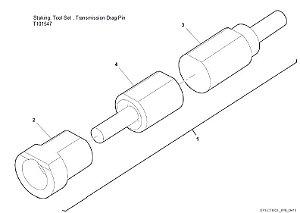 Staking Tool Set  Transmission Drag Pin - T101547