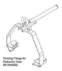 Hoisting Flange for Reduction Gear - 8813988000
