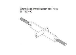 Wrench and Immobilization Tool Assy - 8811937000