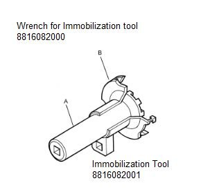 Wrench and immobilization tool - 8816082000