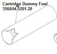 Cartridge Dummy , Fue = 350A-5201-20