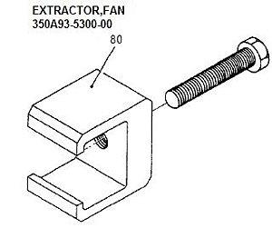 EXTRACTOR,FAN - 350A93-5300-00