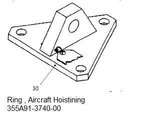 Ring , Aircraft Hoistining - 355A91-3740-00