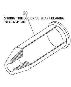 SHRING THIMBLE,DRIVE SHAFT BEARING -350A93-3410-00