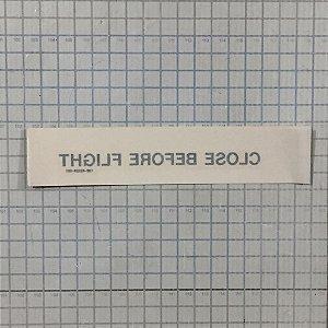 PLAQUETA - 120-42529-001