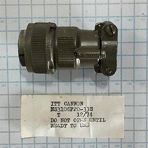 CONECTOR - MS3106F20-33S