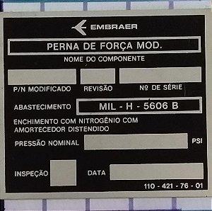 PLAQUETA - 110-421-76-01