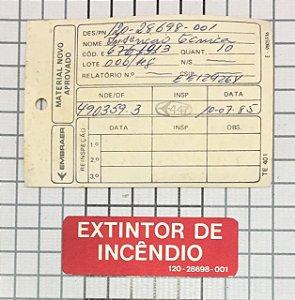 PLAQUETA - 120-28698-001