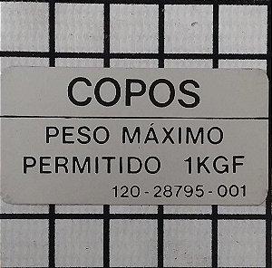PLAQUETA - 120-28795-001