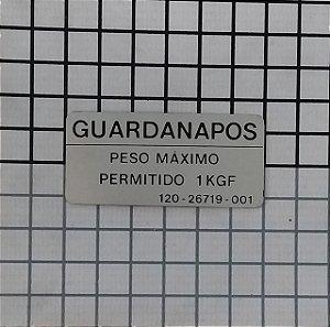 PLAQUETA - 120-26719-001