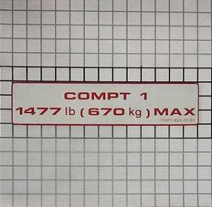 PLAQUETA - 110P1-853-31-01