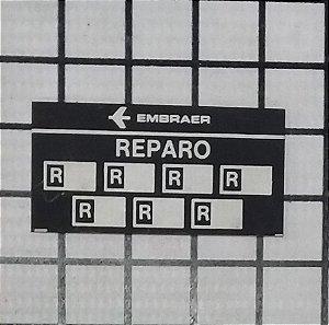 PLAQUETA - 110-421-68-04