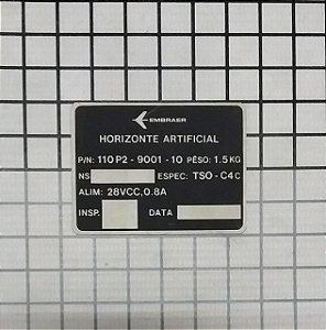 PLAQUETA - 110P2-9001-10-01