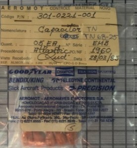 CAPACITOR - 301-0221-001