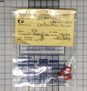 CAPACITOR - 0033X400V