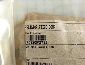 RESISTOR, FIXED, LAMP - RC20GF271J