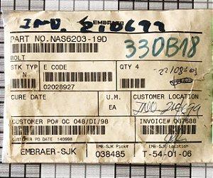 BOLT - NAS6203-19D