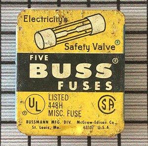 FUSE CARTRIDGE GLASS - AGC10