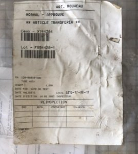 TUBO ASSY - 120-08010-600