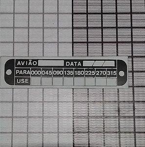 PLAQUETA - DAF4-1966