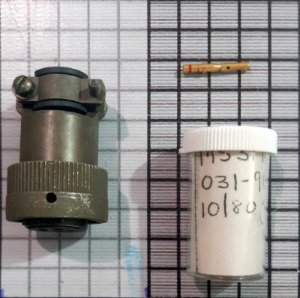 CONECTOR - MS3126F14-5S