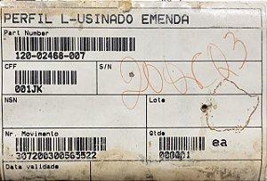PERFIL L-USINADO EMENDA - 120-02468-007