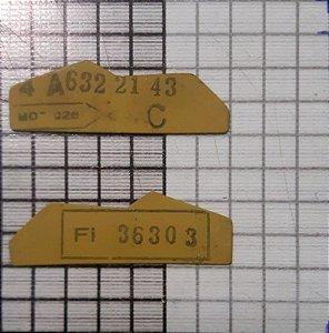 CHAPA - 4A-632-21-43 ( 4A-632-21-43 C)