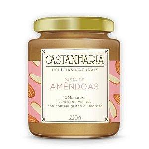 Pasta de Amêndoas 210g - Castanharia